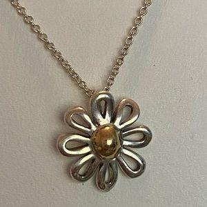 Tiffany & Co Paloma Picasso daisy pendant necklace